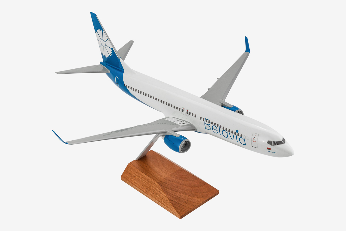 Belavia Boeing 737-800 Desktop Airplane Model