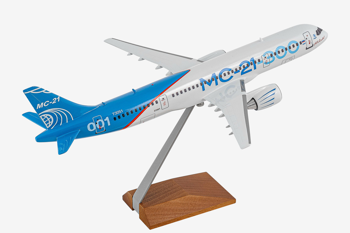 Irkut MC-21-300 Desktop Airplane Model