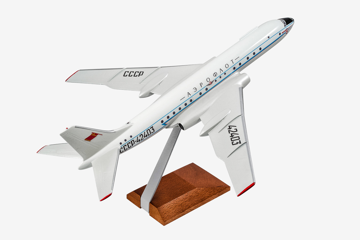 Tupolev Tu-104 Desktop Airplane Model